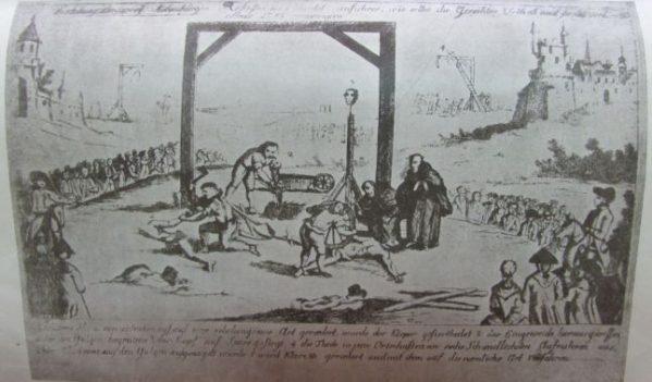 Manifestare pentru marcarea locului unde se afla ingropata inima lui Horea, prin construirea unui esafod