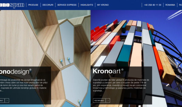Kronospan, o lume întreagă de posibilităţi de design…