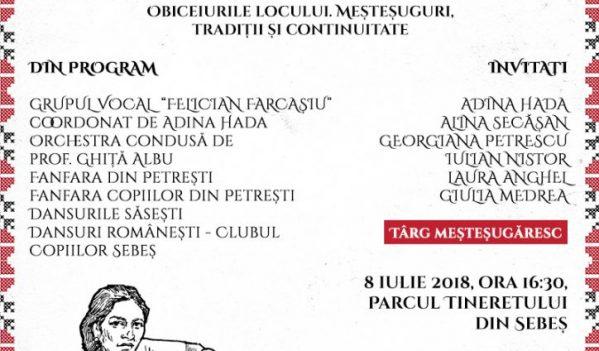 SĂRBĂTOAREA PORTULUI TRADIȚIONAL, LA SEBEȘ