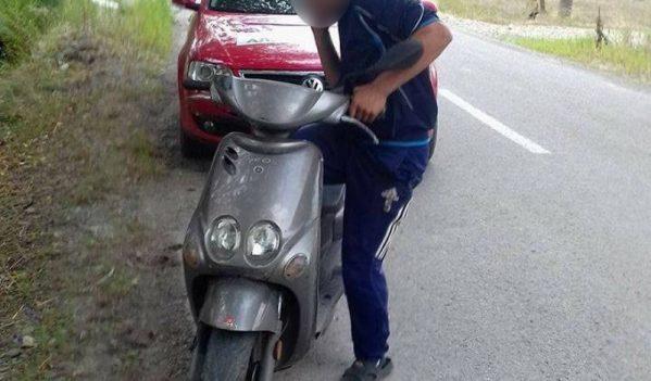 Minor cercetat pentru infracțiuni rutiere