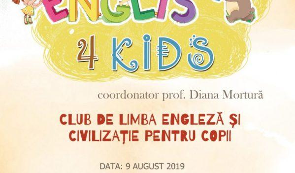 """English 4 Kids la Biblioteca Județeană """"Lucian Blaga"""" Alba"""