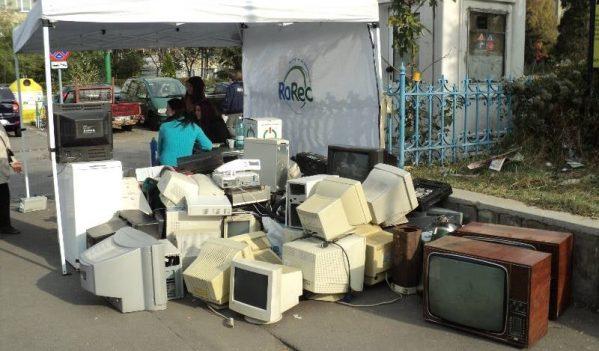 Colectare de echipamente electrice si electronice la Sebes, sambata 5.10.2019