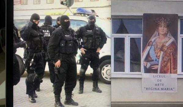 Incredibil! Profesorii ameninta elevii cu…Politia, la Liceul de Arte Regina Maria din Alba Iulia!