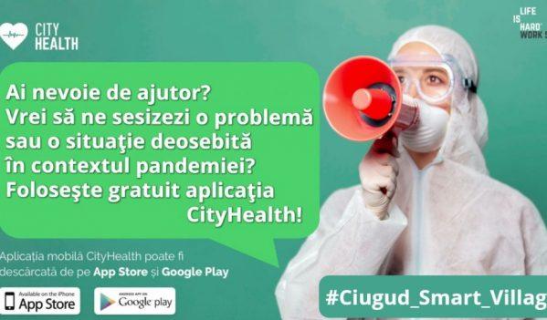 Primăria Ciugud oferă cetățenilor o aplicație prin care pot sesiza rapid orice problemă care ar putea apărea după relaxarea măsurilor anti COVID 19