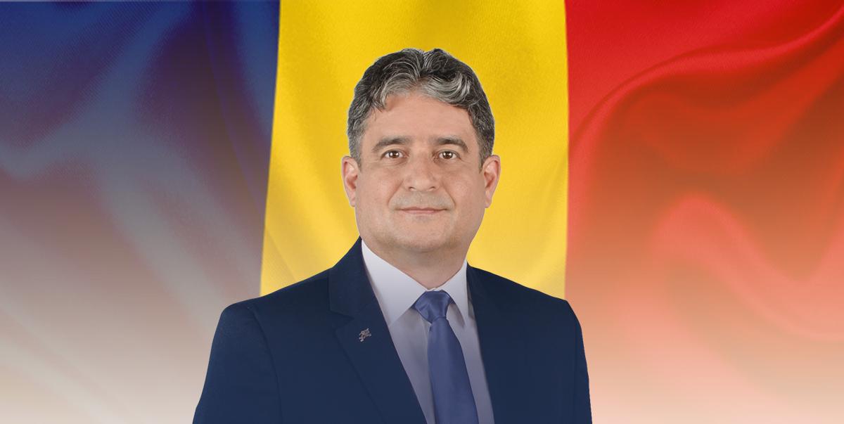 Gabriel Pleșa: Haideți ca, în 2020, tricolorul să fie un simbol al puterii acestui neam de a trece peste toate momentele grele!