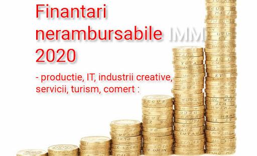 Finantari pentru mediul privat – start-up, micro si mici IMM-uri